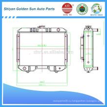 Мьянма сельскохозяйственный радиатор производства Shiyan в Китае.