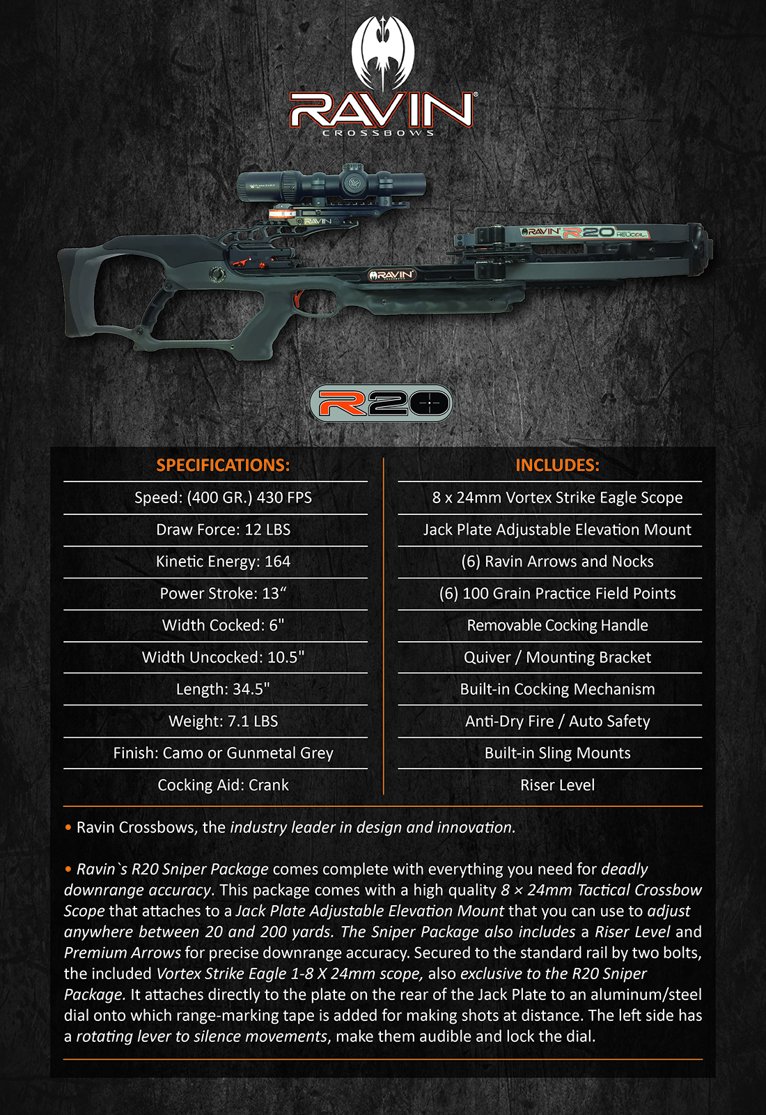 Ravin_Crossbow_R20_Sniper_Grey_Product_Description