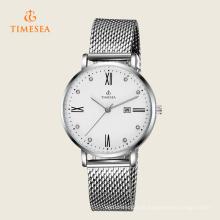 Relógio de moda feminina com banda de malha 71135