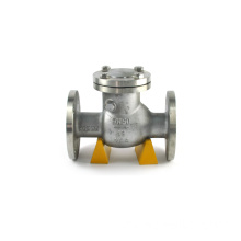 flange wcb wafer swing check valve ptfe lined dn700 for wholesale