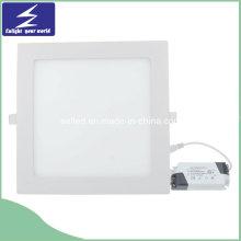 3/4/6/9/12/15/18 / 24W 85-265V Luz de panel delgada del LED