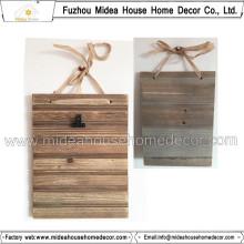 Moldura de madeira sólida tamanho A4