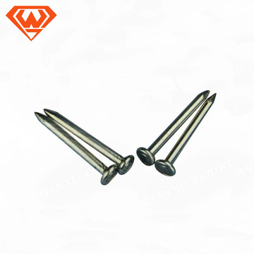Pregos de aço carbono de 1-5 polegadas pregos de concreto galvanizado - goodwill de Shanxi
