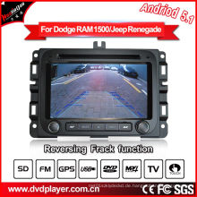 Android 5.1 / 1.6 GHz Auto DVD GPS für Dodge RAM 1500 Auto Audio Player mit WiFi Anschluss Hualingan