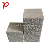 High Strength Water Resistant Fireproof No Asbestos Cement Board Polyurethane Sandwich Panel