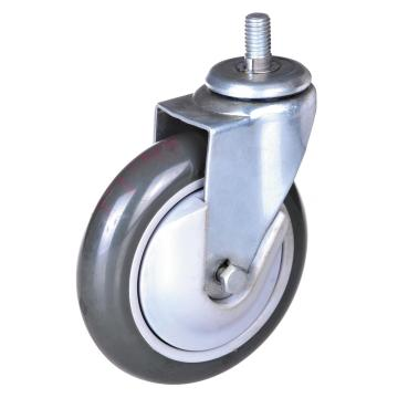 4-tums 5-tums PP / PU-hiss Swivel Caster