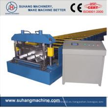 La calidad de Ce & ISO personaliza el rollo automático del decking del tejado del metal que forma la máquina