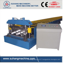 Custom Quality Ce &ISO Galvanized Steel Floor Decking Roll Forming Machine