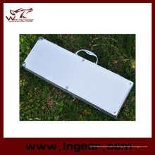 Táctica militar 85cm caja de herramienta de aluminio para caja de arma