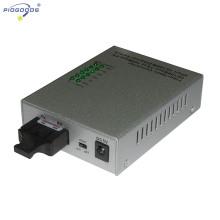 10 / 100M monomode 4 ports Ethernet convertisseur de fibre optique