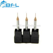 Fresas de extremo de costilla de cuello largo de carburo sólido de BFL para máquina dental