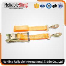 En Correia de catraca retrátil padrão para amarração de carga