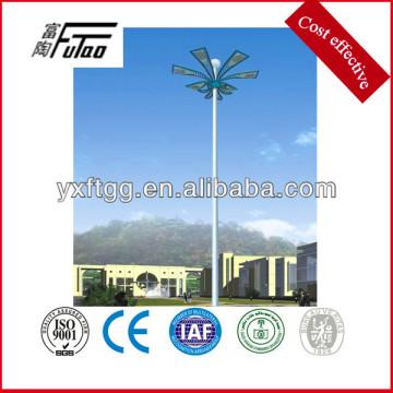 15-45meters galvanizado alto poste del mástil