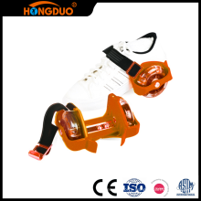 Creative Design two small wheel flash sliding roller skate shoes