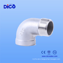 Casting Stainless Steel 90 Degree Pipe Elbow Weight