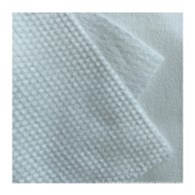 New Type Top Sale 75gsm Best Price Good Quality Factory Made Pearl Pattern Cross Spunlace Nonwoven Fabric Roll Material