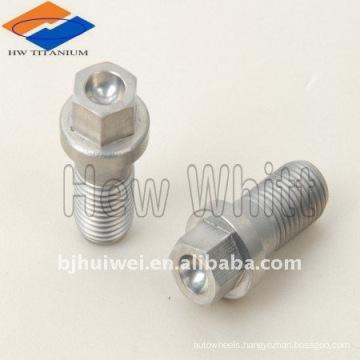 Titanium hex flange head bolt