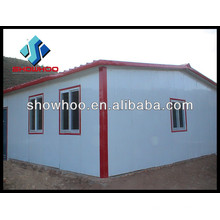 insulated sandwich wall roof panel building material prefab house