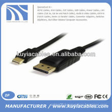 1.8m/6ft Mini DP to DP Cable