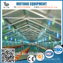 A new type of building system for poultry breeding steel structure chicken house