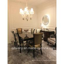 Table à manger Divany Style post-moderne des meubles en bois (LS-208 & LS-304)