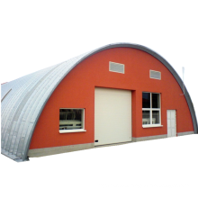 P O S A  SHAPE screw-joint metal roof buildings and arch steel building quonset metal roof  hut metal roof storage