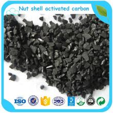Filtro de aire de carbón activado granular de cáscara de coco para bolsa de carbón activado