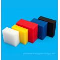 Plaque en plastique polyéthylène HDPE