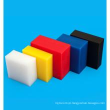 Folha de plástico de polietileno PEAD