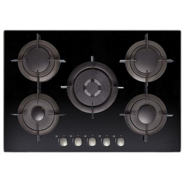 Candy Black Ceramic Hob 5 Burner