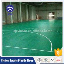 PVC vinyle intérieur handball cour plancher tapis de handball potable
