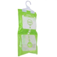 Made in China hang wardrobe cabinet absorbent quick drying leak-proof moisture absorber dehumidifier bag