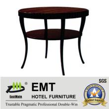 2016 Художественный дизайн Круглый согнутый стол для ног (EMT-CT08)