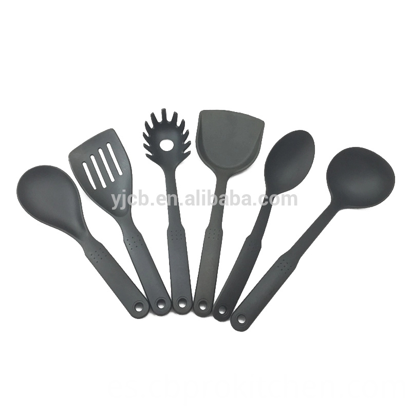 6pcs Nylon Spoon Kit