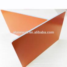 Nano orange 4*0.5mm fire retardant core Aluminum composite panels ACP