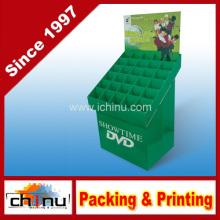 DVD VCD CD Papier Wellpappe Paletten Display (6212)