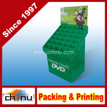 DVD VCD CD Paper Corrugated Board Pallet Display (6212)