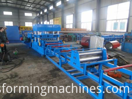 Two Wave Highway Guardrail Machine