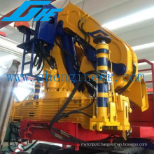 Knuckle Boom Truck Mounted Crane of Low Self Weight