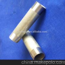 Nipple de tubo preto DIN 2982