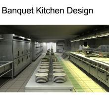 Shinelong Maßgeschneidertes Projekt Bankett Küche Design