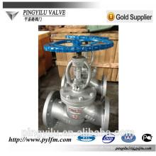 Válvula de globo de aço inoxidável J41Y / H -16C fabricante na China