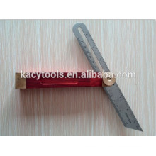 adjustable stainless steel angle aquare ruler