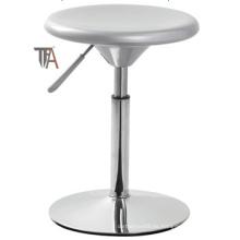 Taburete de barra de material de color blanco ABS (TF 6011)