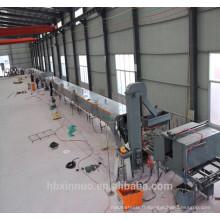 Machine de plaque de toiture enduite de pierre d'acier de xn avec la perforation