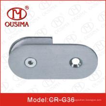 Abrazadera de fijación de cristal de acero inoxidable usada en sitio de ducha (CR-G36)