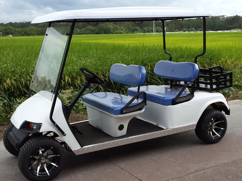 4 seats zone golf carts