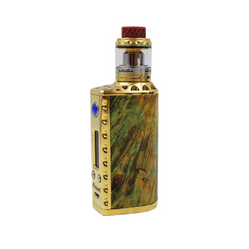 Box Mod Kit med Colorful Unregulated mod RDA Mekanisk RDA Portable Box Mod Vaporizer