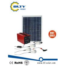 20W Kit de iluminación solar Sistema de energía solar
