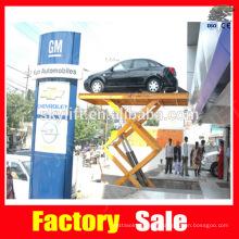 hydraulic scissor platform for car parking